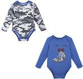 Andy & Evan Baby Boys Sneaker and Camo Bodysuit Set
