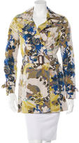 Etro Printed Trench Coat