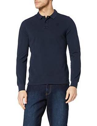 Blauer Men's Polo Manica Lunga Shirt,L