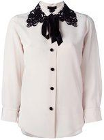 Marc Jacobs lace collar blouse