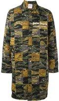 Palm Angels printed coat - men - Cotton/Viscose - 48