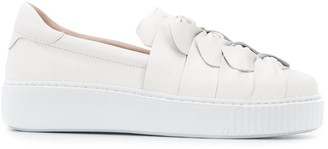 Tosca bow embellished sneakers