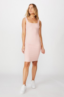 Supre Square Neck Midi Dress