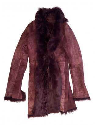 Ventcouvert Burgundy Leather Coats