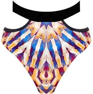 Andrea Iyamah Fawn Bikini Bottom