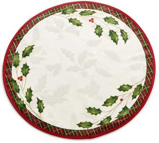 Lenox Closeout! Table Linens, Holiday Nouveau Round Placemat
