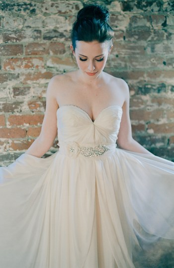 Serephine 'Marguerite' Bridal Sash