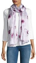 Kate Spade Silk Floral Scarf