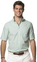 Chaps Men's Classic-Fit Tattersall Poplin Easy-Care Button-Down Shirt