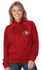 G Iii Sports G-iii Sports San Francisco 49ers Women's Power Play Track Jacket