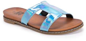 Muk Luks Nerissa Holographic Sandal