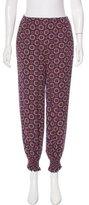 Kenzo Printed High-Waist Pants