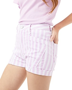 HABITUAL KIDS Girls' Rosalie Multi Seam Shorts - Big Kid