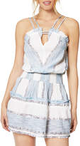 Ramy Brook Malai Metallic Sleeveless Mini Dress