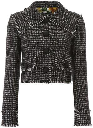 Dolce & Gabbana Houndstooth Jacket