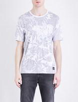 Levi's Line 8 wilderness-print cotton-jersey T-shirt