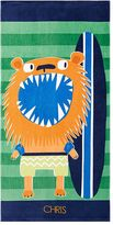 Pottery Barn Kids Classic Lion Beach Towel