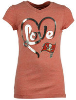 5th & Ocean Girls' Tampa Bay Buccaneers Love T-Shirt