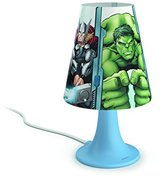 Philips Marvel Avengers Children's Bedside LED Table Lamp - Green