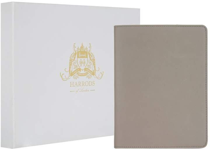 Harrods Large Leather Refillable Notebook