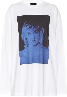 Raf Simons Printed cotton top