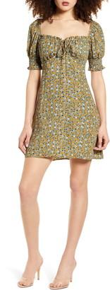 Rowa Floral Print Minidress