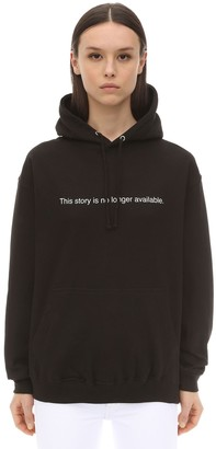 story. This Is No Longer Available Hoodie