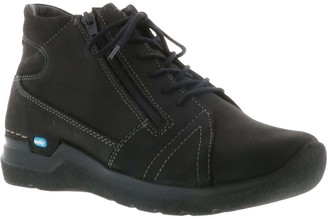 Wolky Lace Up Nubuck Boots - Why