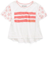 True Religion Stars & Stripes Trapeze Tee (Big Girls)