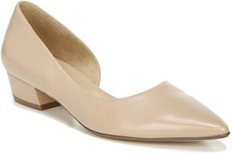 Naturalizer Pointed-Toe Leather Skimmers - Belina