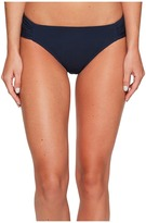 Jets Illuminate Gathered Side Hipster Bikini Bottom Women's Swimwear