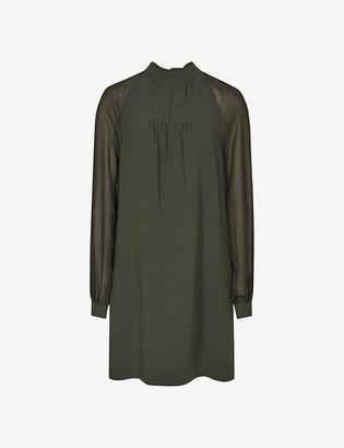 Reiss Leah woven mini dress