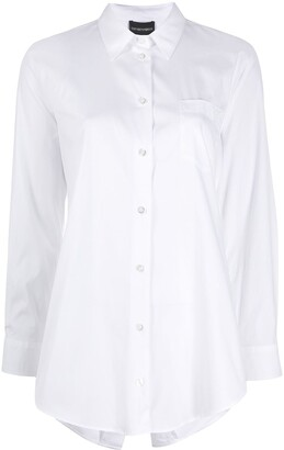 Emporio Armani Pleated Back Shirt