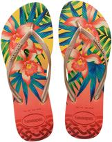 Havaianas Yellow 41221110013 Slim Tropical
