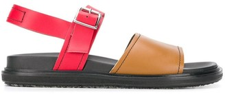Marni Colour Block Sandals