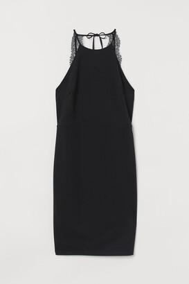 H&M Lace-back dress