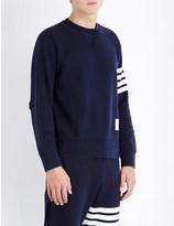 Thom Browne Striped cotton-jersey sweatshirt