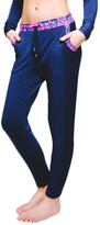 Vibrant Bukhara Navy Everyday Slouch Pant