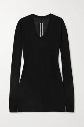 Rick Owens Jersey T-shirt - Black