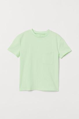 H&M Chest-pocket T-shirt