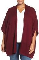 Sejour Plus Size Women's Wool & Cashmere Shawl