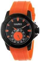 """Haurex Italy Men's 3N503UOO """"Acros"""" Stainless Steel Watch"""
