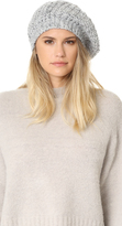 White + Warren Aplaca Beret