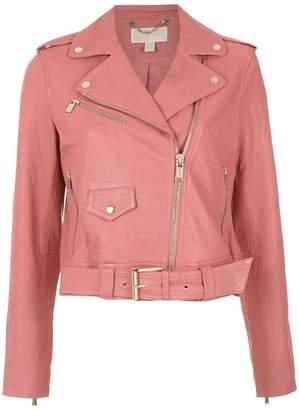 MICHAEL Michael Kors Off-Centre Zipped Jacket