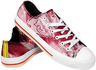 Women's Kansas City Chiefs Tie-Dye Canvas Shoe