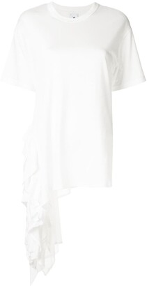 Maison Mihara Yasuhiro asymmetric T-shirt