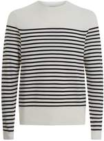 Sandro Textured Striped Sweater
