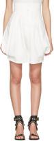 Chloé Ivory High-rise Shorts