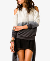 Forever 21 Cutout Ombreé Pullover