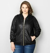 Avenue Quilted Bomber Jacket